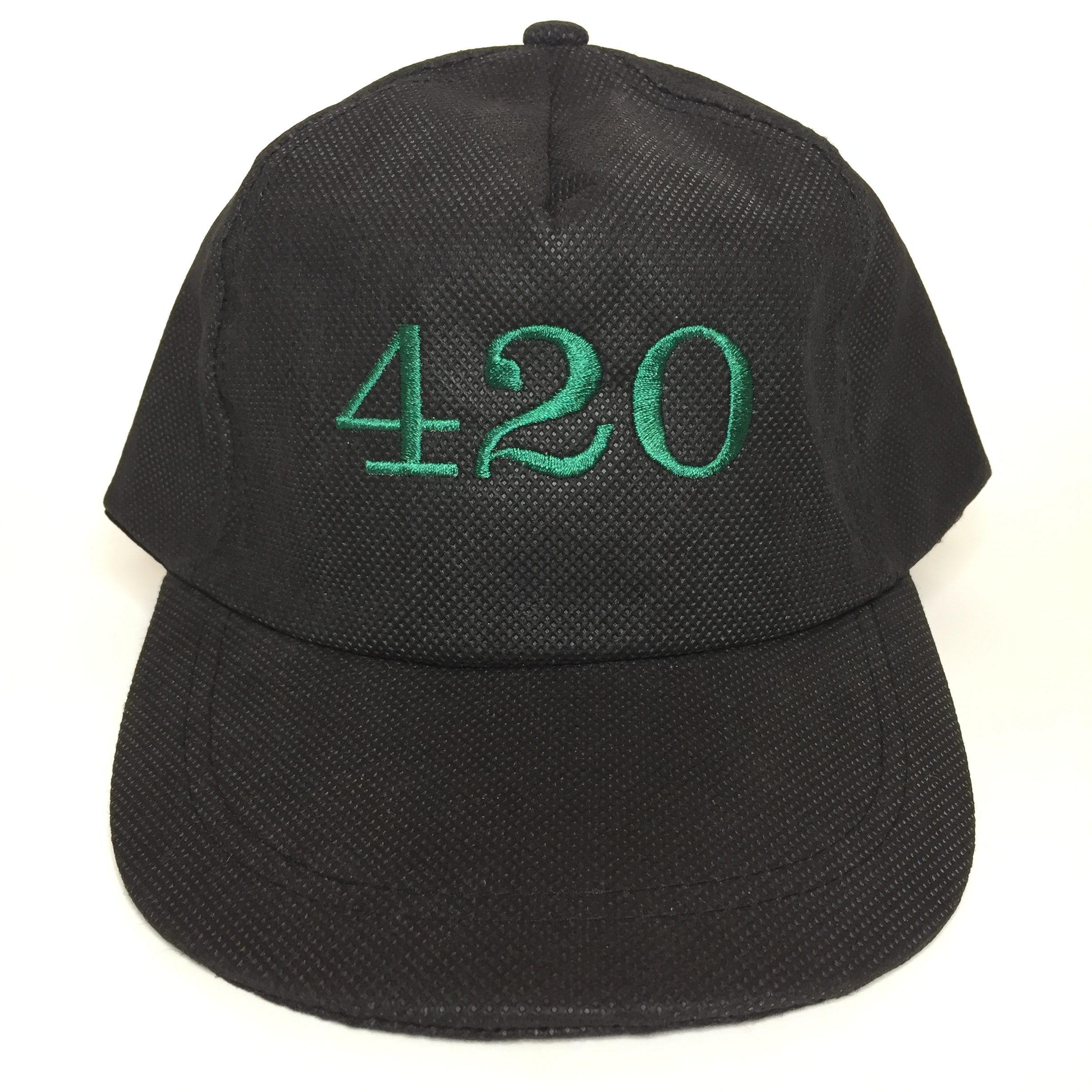 420 5 Panel Dad Hat Front View