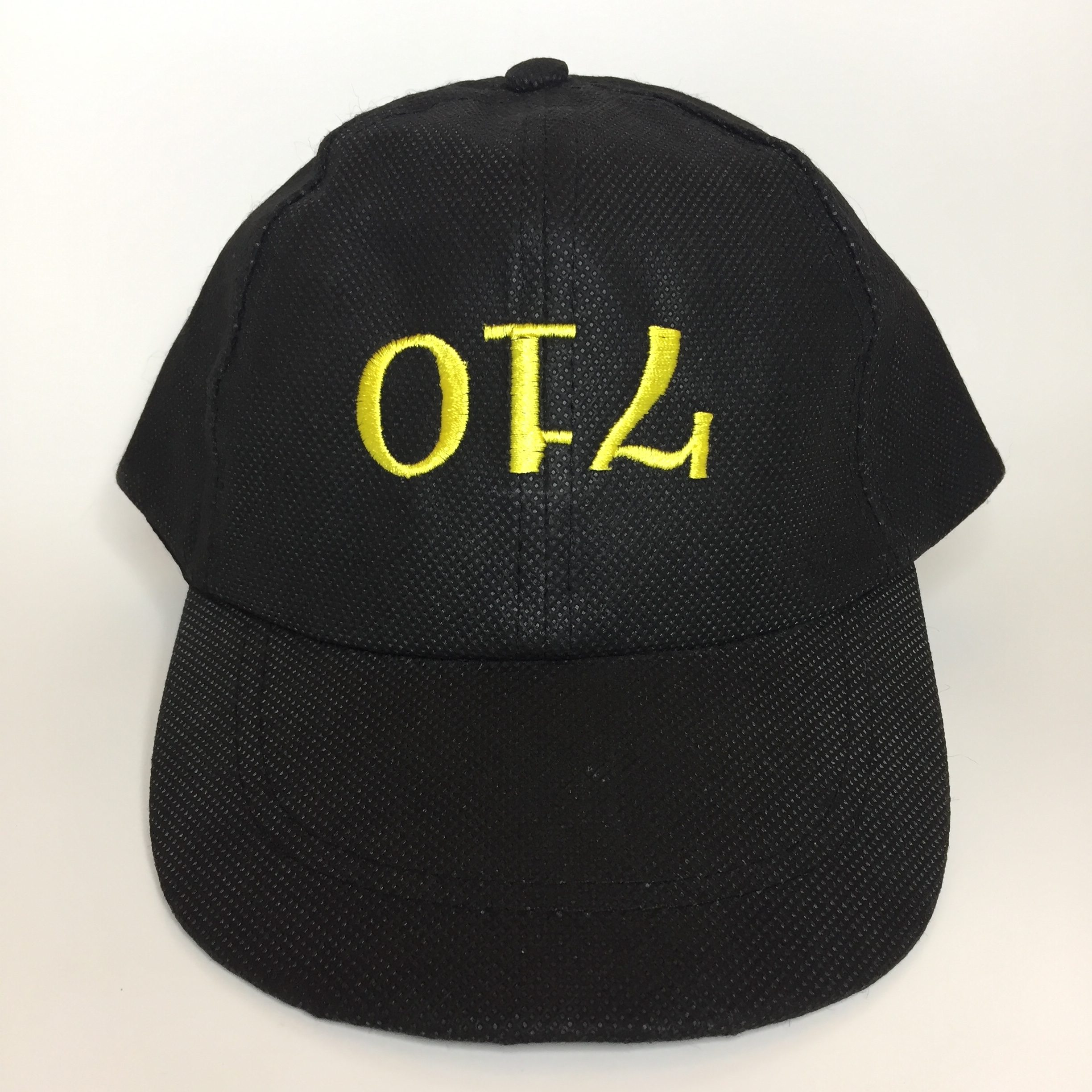 Oil 6 Panel Dad Hat Front View