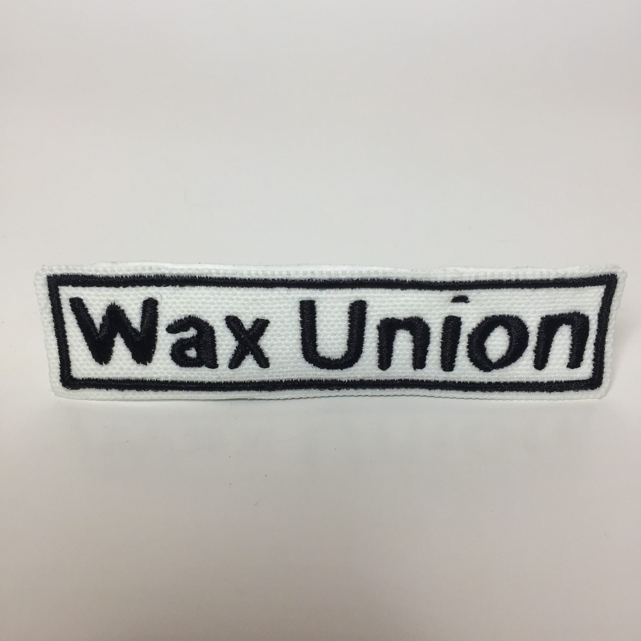 Wax Union Text Patch